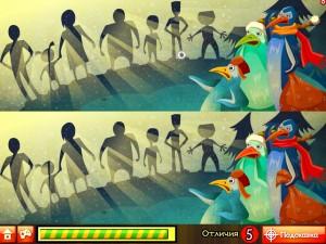 Онлайн игра Пингвины Санты (Santa Penguin) (изображение №8)