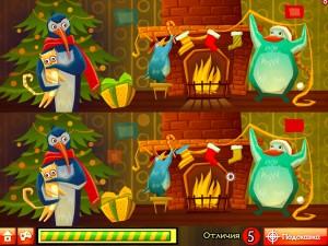 Онлайн игра Пингвины Санты (Santa Penguin) (изображение №6)