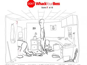 Онлайн игра Не бей своего босса (Dont Whack Your Boss) (изображение №1)