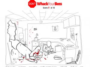 Онлайн игра Не бей своего босса (Dont Whack Your Boss) (изображение №2)