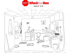 Онлайн игра Не бей своего босса (Dont Whack Your Boss) (изображение №3)