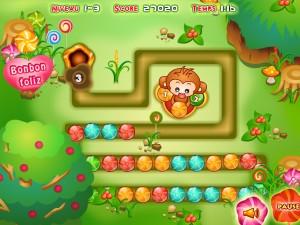 Онлайн Конфетная игра Зума (Bonbon Zuma ) (изображение №3)