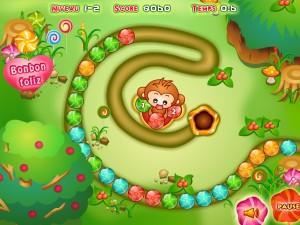 Онлайн Конфетная игра Зума (Bonbon Zuma ) (изображение №4)