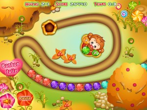 Онлайн Конфетная игра Зума (Bonbon Zuma ) (изображение №5)