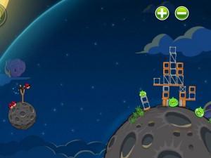 Онлайн игра Злые птицы в космосе  (Angry Birds Space) (изображение №3)