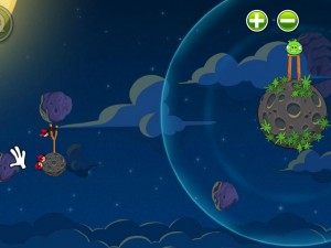 Онлайн игра Злые птицы в космосе  (Angry Birds Space) (изображение №7)