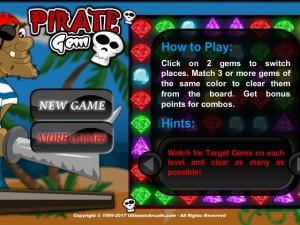 Онлайн игра Жемчужина пиратов (Pirate Gem) (изображение №2)