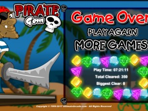 Онлайн игра Жемчужина пиратов (Pirate Gem) (изображение №4)