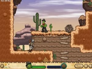 Онлайн игра Кактус Маккой 1: Проклятие и новые способности (Cactus McCoy and the Curse of Thorns) (изображение №2)