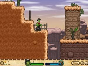 Онлайн игра Кактус Маккой 1: Проклятие и новые способности (Cactus McCoy and the Curse of Thorns) (изображение №14)