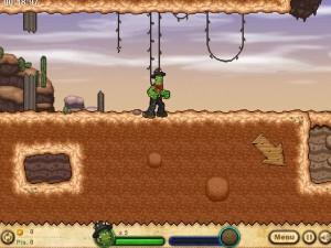 Онлайн игра Кактус Маккой 1: Проклятие и новые способности (Cactus McCoy and the Curse of Thorns) (изображение №12)