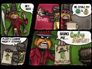 Онлайн игра Кактус Маккой 1: Проклятие и новые способности (Cactus McCoy and the Curse of Thorns) (изображение №11)