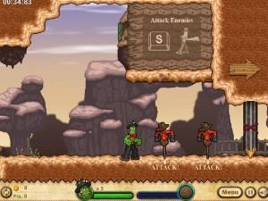 Онлайн игра Кактус Маккой 1: Проклятие и новые способности (Cactus McCoy and the Curse of Thorns) (изображение №10)