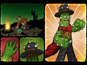 Онлайн игра Кактус Маккой 1: Проклятие и новые способности (Cactus McCoy and the Curse of Thorns) (изображение №8)