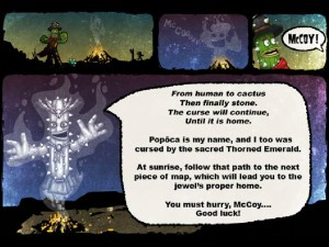 Онлайн игра Кактус Маккой 1: Проклятие и новые способности (Cactus McCoy and the Curse of Thorns) (изображение №7)