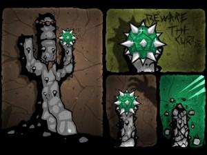 Онлайн игра Кактус Маккой 1: Проклятие и новые способности (Cactus McCoy and the Curse of Thorns) (изображение №5)