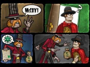Онлайн игра Кактус Маккой 1: Проклятие и новые способности (Cactus McCoy and the Curse of Thorns) (изображение №3)