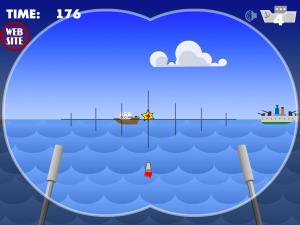 Онлайн игра Морской бой атака субмарины (Marine attack Submarine) (изображение №2)
