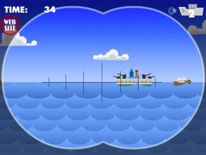 Онлайн игра Морской бой атака субмарины (Marine attack Submarine) (изображение №3)