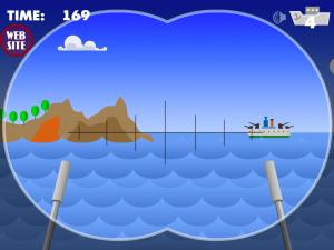 Онлайн игра Морской бой атака субмарины (Marine attack Submarine) (изображение №4)