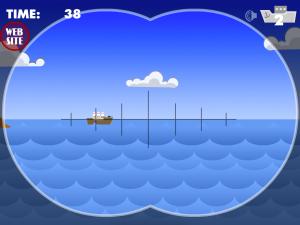 Онлайн игра Морской бой атака субмарины (Marine attack Submarine) (изображение №5)