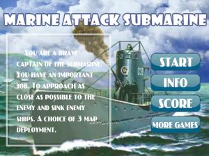 Онлайн игра Морской бой атака субмарины (Marine attack Submarine) (изображение №7)