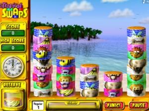 Игра Тропические свопы
