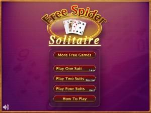 Онлайн игра Пасьянс паук (Free spider solitaire) (изображение №6)