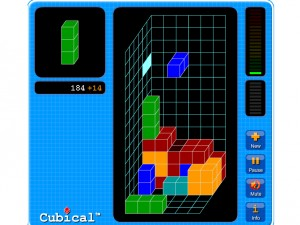Игра Кубический тетрис