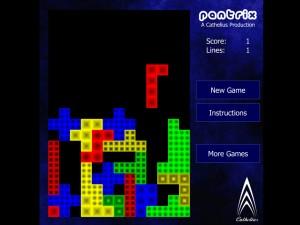 Онлайн игра Пентрикс тетрис (Pentrix) (изображение №2)