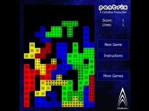 Онлайн игра Пентрикс тетрис (Pentrix) (изображение №3)