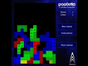 Онлайн игра Пентрикс тетрис (Pentrix) (изображение №5)