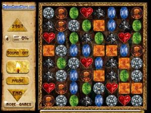 Онлайн игра Сокровища Египта (Egypt Crystals) (изображение №1)