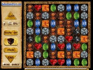 Онлайн игра Сокровища Египта (Egypt Crystals) (изображение №2)