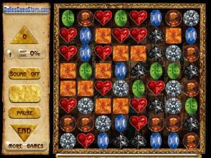 Онлайн игра Сокровища Египта (Egypt Crystals) (изображение №4)