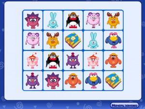 Онлайн игра Смешарики: Меморина (Smeshariki memory) (изображение №6)