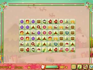 Онлайн игра Новогодний маджонг: соедини пары онлайн (Christmas Mahjong Connect pairs) (изображение №4)