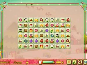 Онлайн игра Новогодний маджонг: соедини пары онлайн (Christmas Mahjong Connect pairs) (изображение №5)