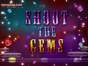 Онлайн игра Стрельба по кристаллам (Shoot the gems) (изображение №2)