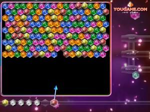 Онлайн игра Стрельба по кристаллам (Shoot the gems) (изображение №3)