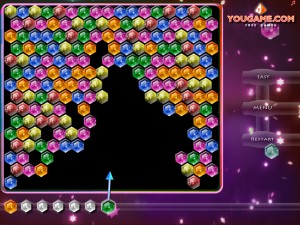 Онлайн игра Стрельба по кристаллам (Shoot the gems) (изображение №1)