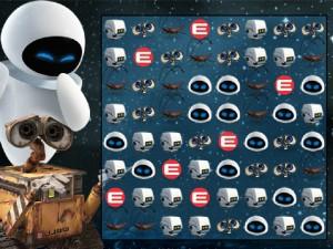 Онлайн игра Валли три в ряд (Wall-E The Video Game) (изображение №2)