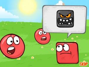Онлайн игра Красный Шар 4 Часть 2 (Red ball 4 Vol.2) (изображение №2)