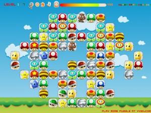 Онлайн игра Соединение Марио (Super Mario Connect) (изображение №2)