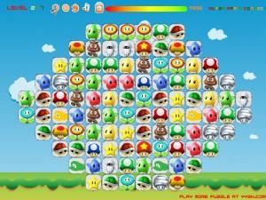 Онлайн игра Соединение Марио (Super Mario Connect) (изображение №3)