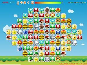 Онлайн игра Соединение Марио (Super Mario Connect) (изображение №4)