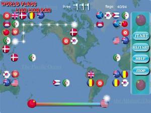 Игра Флаги мира. Лиан Лиан Кан