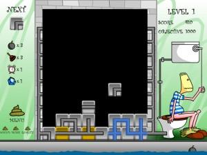 Онлайн Игра Туалетный тетрис (Pootris Plumber) (изображение №2)