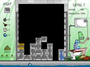 Онлайн Игра Туалетный тетрис (Pootris Plumber) (изображение №3)
