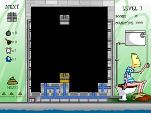 Онлайн Игра Туалетный тетрис (Pootris Plumber) (изображение №4)